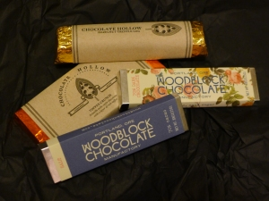 Vegan chocolates from the Violet Sweet Shoppe in Seattle